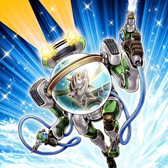 Pesce Cyborg Distruttore