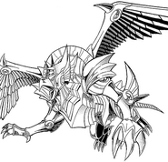 The Winged Dragon of Ra - manga character