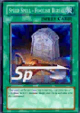 Speed Spell - Foolish Burial