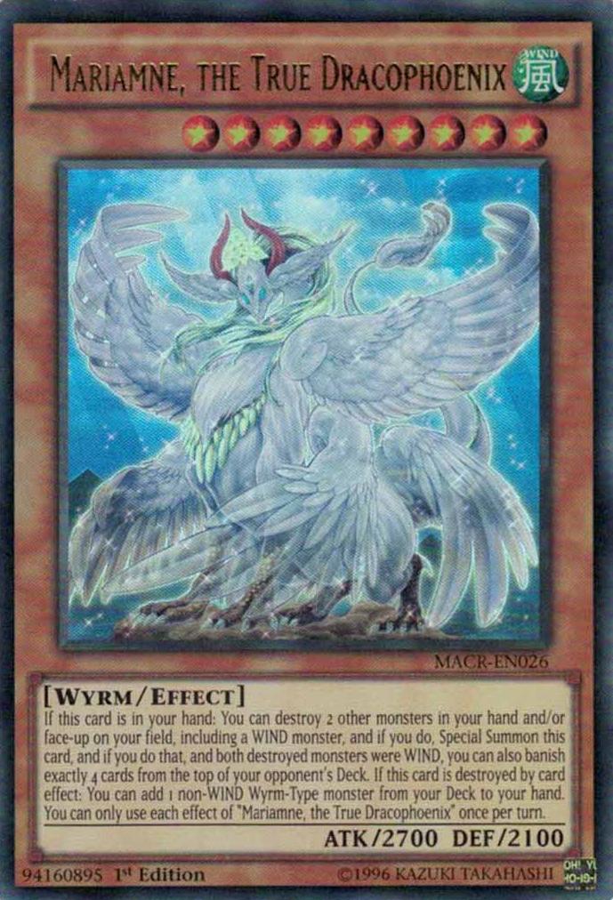 Mariamne, the True Dracophoenix