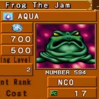 Yugioh Frog The Jam Schleimkröte MP1-004 Slime Toad