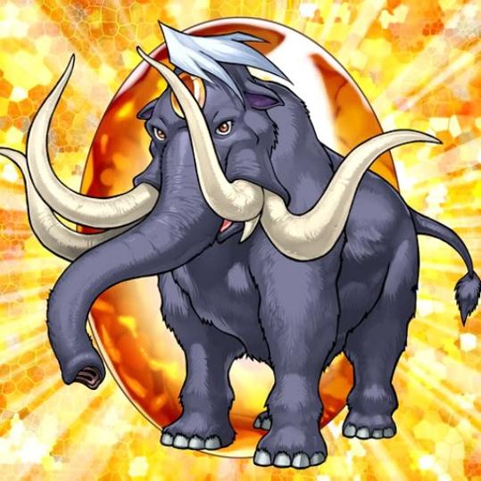 Bestia Cristallo Mammut Ambra