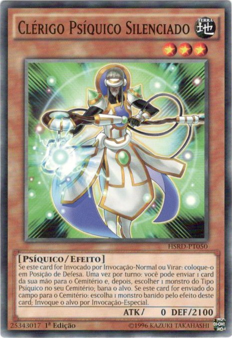 Hushed Psychic Cleric