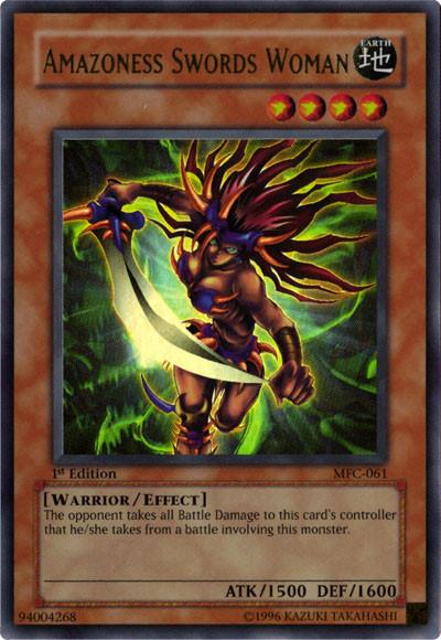 Amazoness Swords Woman
