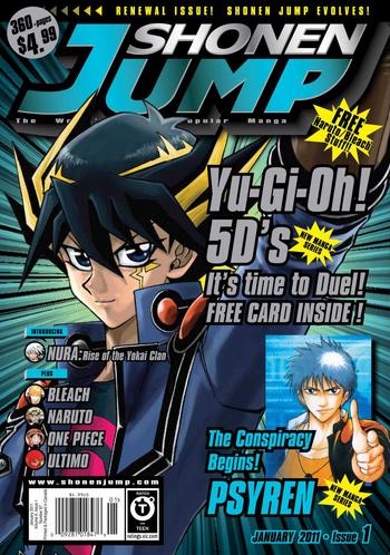 <i>Shonen Jump</i> Vol. 9, Issue 1