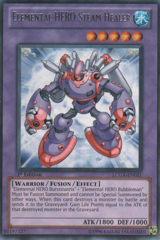 Elemental HERO Steam Healer