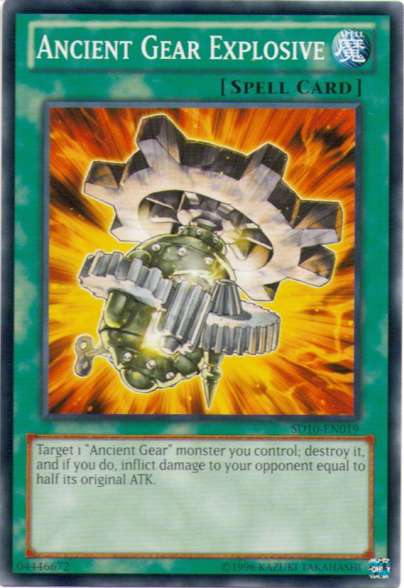 Ancient Gear Explosive
