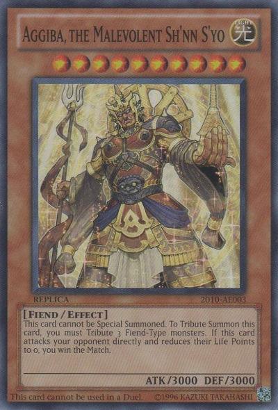 Aggiba, the Malevolent Sh'nn S'yo