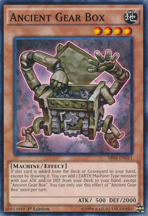 Ancient Gear Box