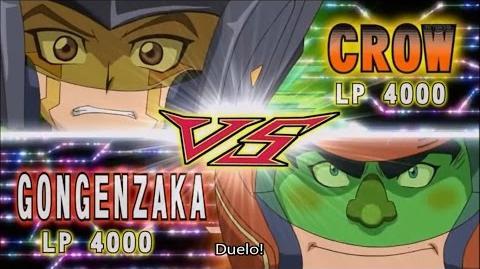 Yu-Gi-Oh! ARC-V - Crow Hogan vs Gongenzaka (Legendado em português)