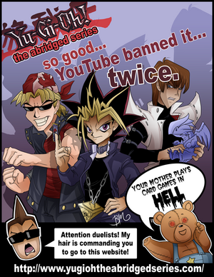 Yu-Gi-Oh: The Abridged Series Poster