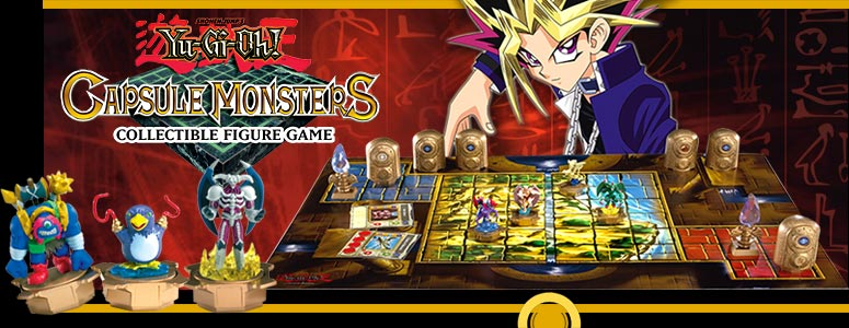 Yu-Gi-Oh! Capsule Monsters Collectible Figure Game
