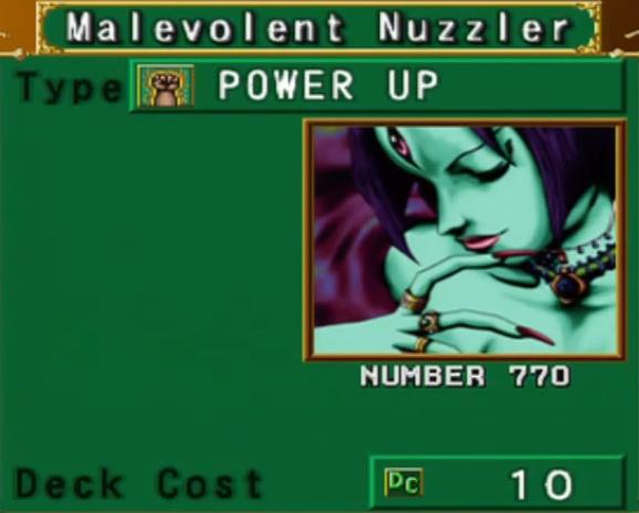 Malevolent Nuzzler (DOR)