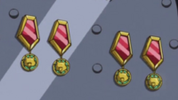 Illustration of Medal Counters in Yu-Gi-Oh! ARC-V anime.