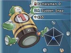 Batteryman D