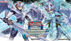 YU-GI-OH CARDS PAPER PLAYMAT //GAME MAT FROM THE DEMO DAY EVENTS