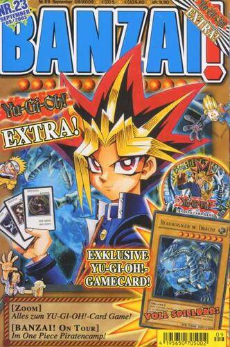 Banzai! promotional cards