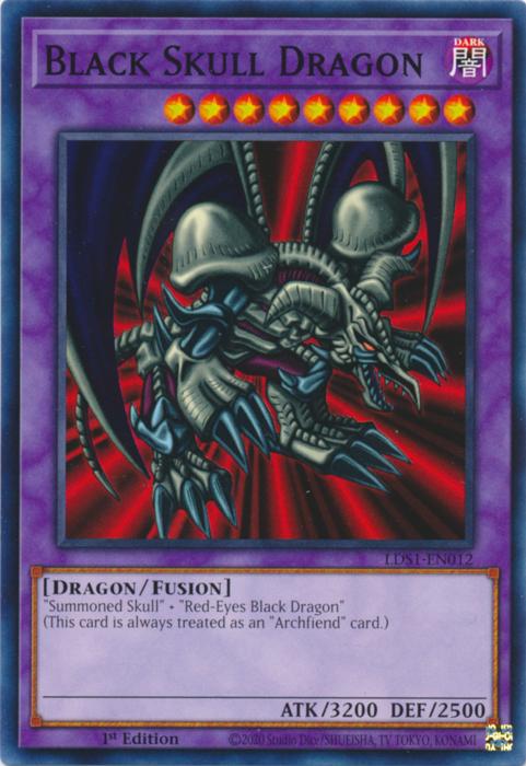 Black Skull Dragon