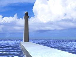 Duel Academy lighthouse