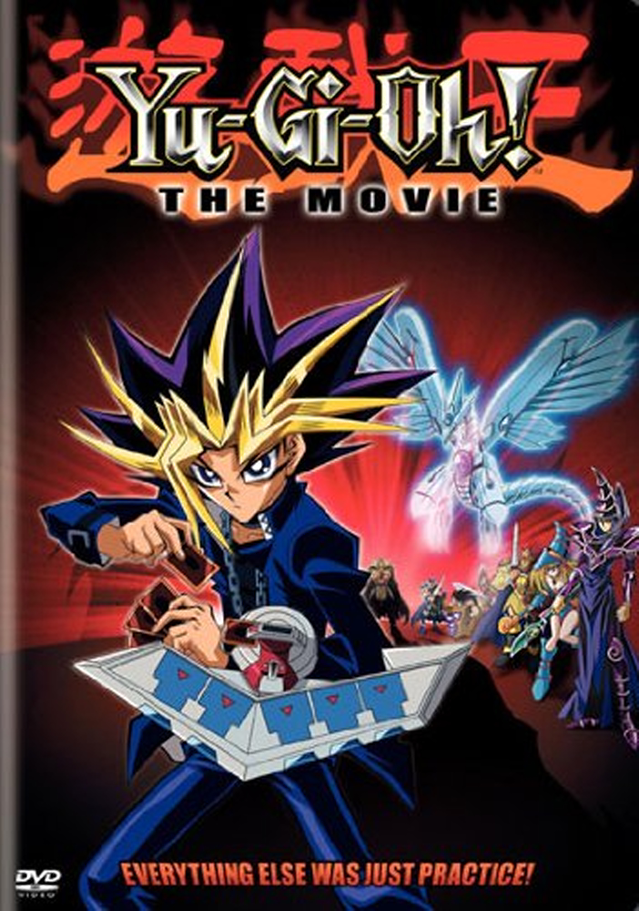 Yu-Gi-Oh! movie DVD listing