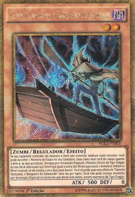 Ghost Charon, the Underworld Boatman
