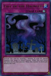 YuGiOh! TCG karta: Call of the Haunted