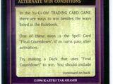 Alternate win conditions