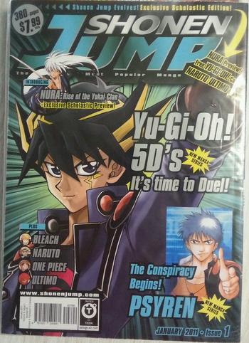 <i>Shonen Jump</i> Scholastic Edition Vol. 9, Issue 1