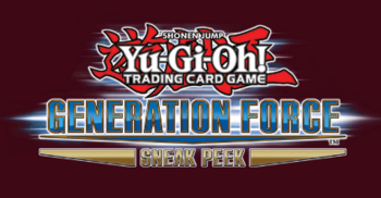Generation Force Sneak Peek Participation Card