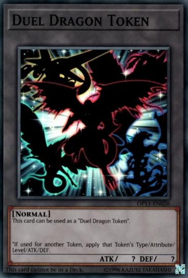 Duel Dragon Token