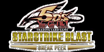 Starstrike Blast Sneak Peek Participation Card