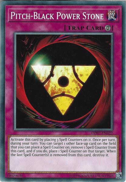 Pitch-Black Power Stone