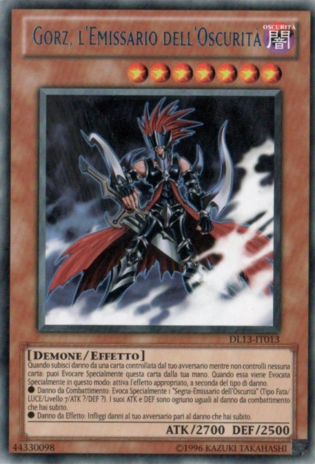 Duelist League 13 participation cards (TCG-IT-UE)