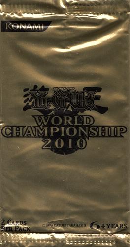 World Championship 2010 Card Pack