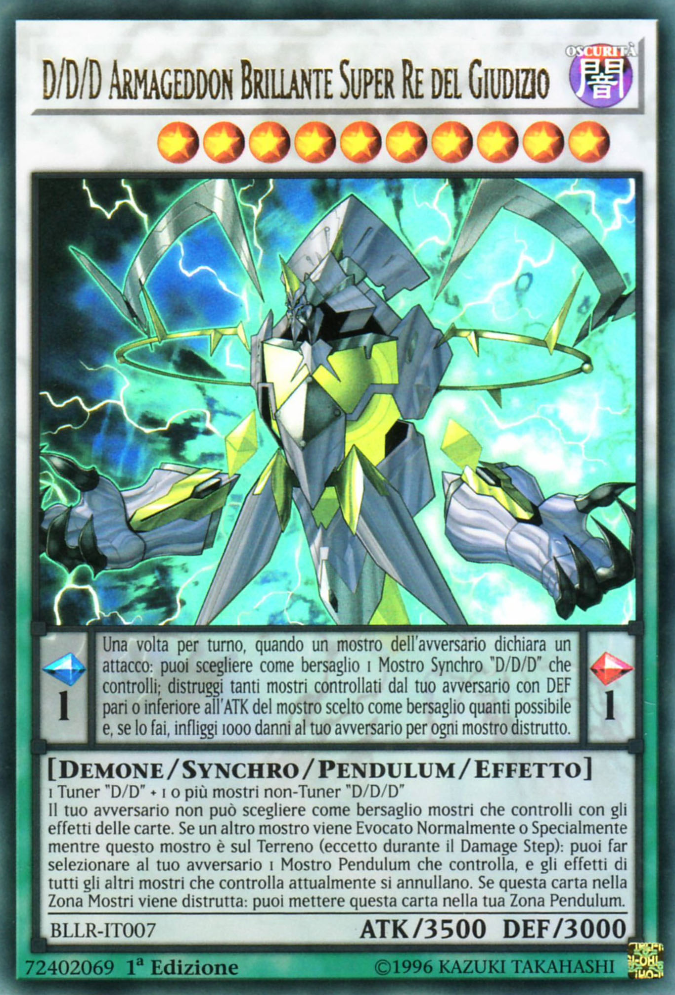 Battles of Legend: Light's Revenge (TCG-IT-1E)