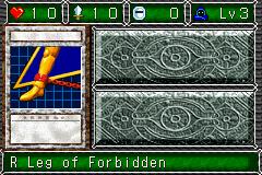 R Leg of Forbidden (DDM)