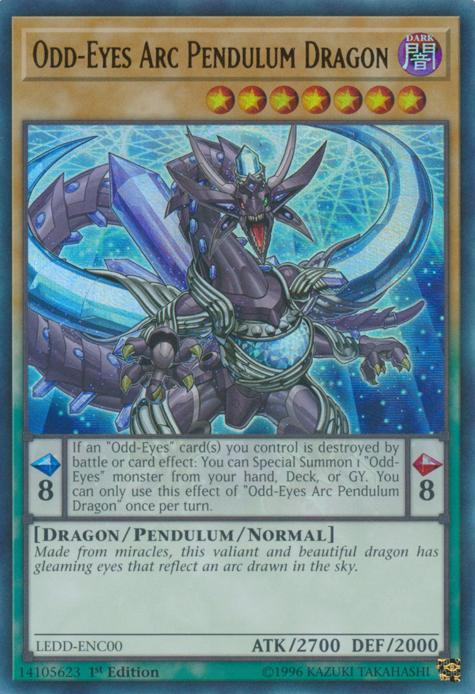 Odd-Eyes Arc Pendulum Dragon