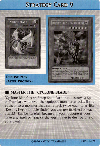 """Master the """"Cyclone Blade"""""""