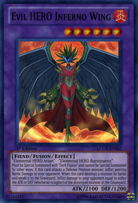 Evil HERO Inferno Wing