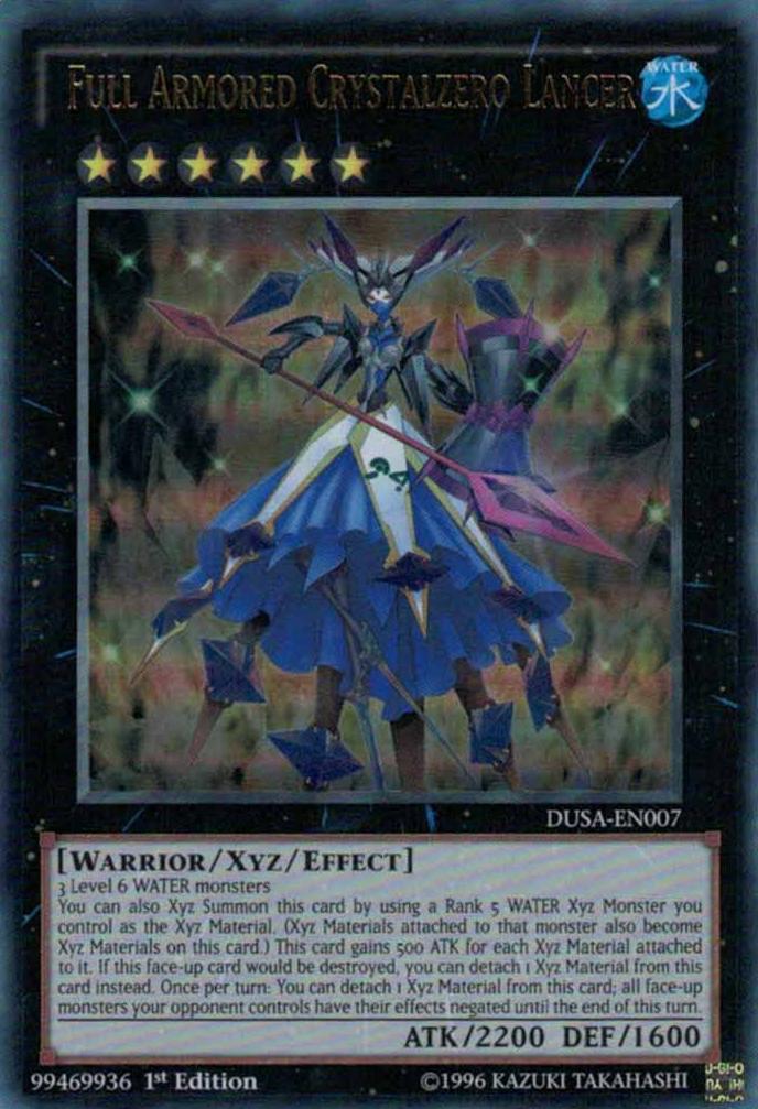 Full Armored Crystalzero Lancer