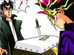 Dark Yugi and Ushio's Shadow Game