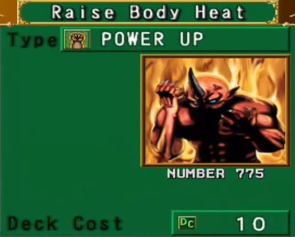Raise Body Heat (DOR)