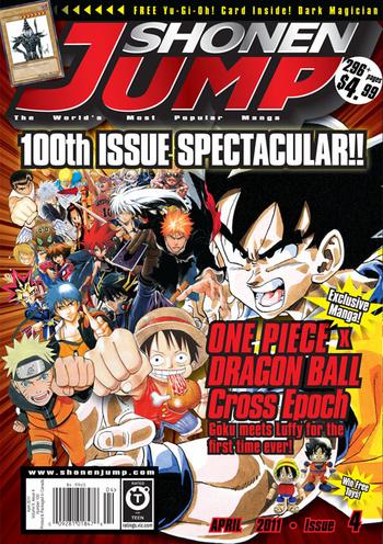 <i>Shonen Jump</i> Vol. 9, Issue 4