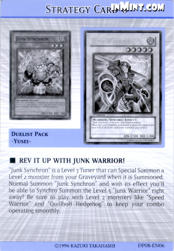 Rev it up with Junk Warrior!