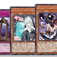 SET OF 3 Yugioh 3x Harpie Channeler LART-EN022 Lost Art Promo