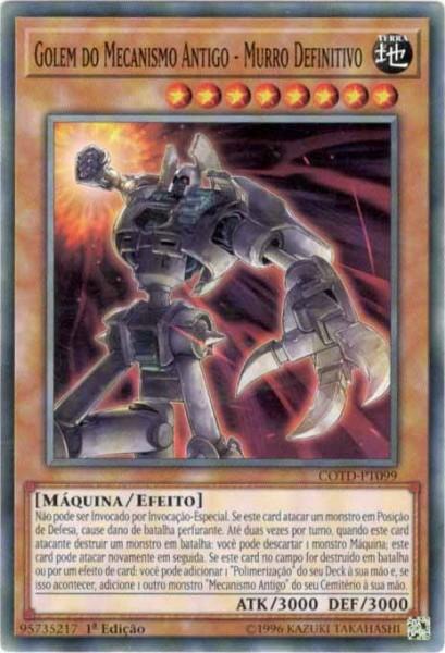 Ancient Gear Golem - Ultimate Pound