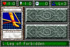 L Leg of Forbidden (DDM)