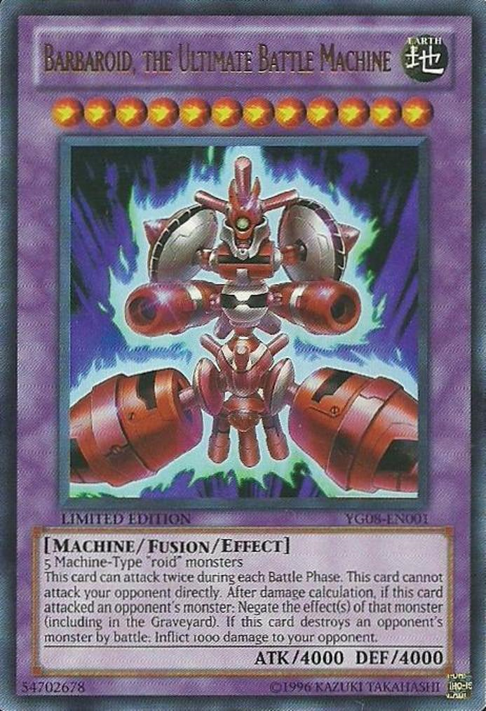 Barbaroid, the Ultimate Battle Machine
