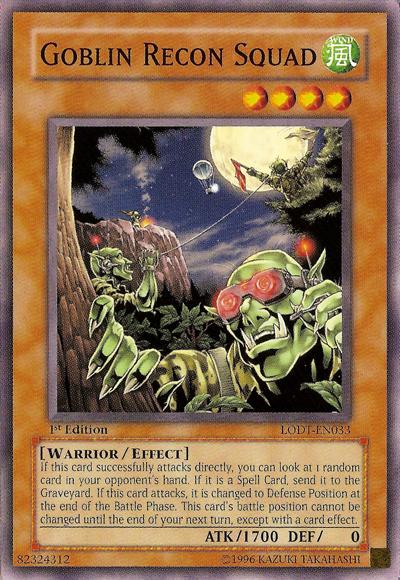 Goblin Recon Squad