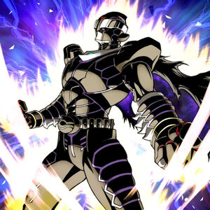 """""""Infinity Dark"""" being Normal Summoned a second time in the artwork of """"Super Double Summon"""""""